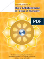 IABU 2012, Buddha's Enlightenment for the Well-Being of Humanity