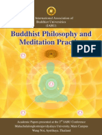 IABU 2012, Buddhist Philosophy and Meditation Practice