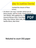 Dss Rebuttal to Court Paper