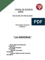 Tp Psico Memoria Final