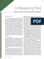 Measuring Rod