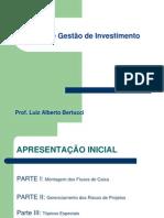 CAD 052 - Análise de Projetos de Investimentos