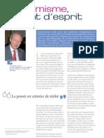 L' Optimisme... un Etat d'esprit ( Places to Be 2009 )