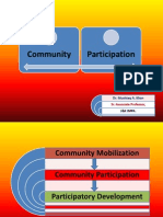 8. Community Participation