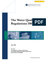 Water Quality Regulations 2009