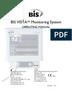 Bis Vista Operating Manual