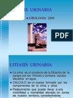LITIASIS  URINARIA UNCP