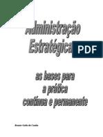 Folder Curso Administração Estratégica