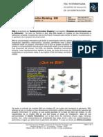 Building Information Modeling BIM - InCONET - V1.5 18-03-20111 White Paper