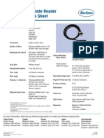 BC 5100 Bar Code Reader Technical Data Sheet