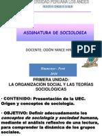 SOCIOLOGÍA 2010 I