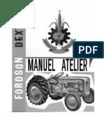 Fordson Dexta Manuel Atelier Repair Manual