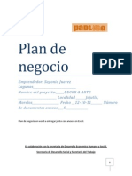 Formato de Plan de Negocios Decor&Arte