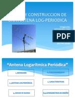 DISEÑO Y CONSTRUCCION DE UNA ANTENA LOG-PERIODICA