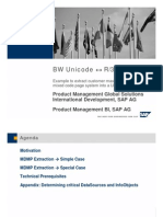 BW 3.1 Content Unicode and MDMP Extraction.ppt