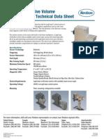 GD 500 Adhesive Volume Smart Sensor Technical Data Sheet