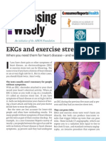 EKGs and Exercise Stress Tests