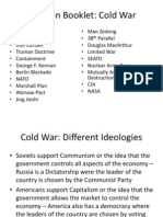Cold War - Revision Booklet