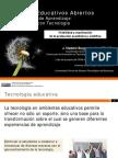 Recursos Educativos Abiertos en Ambientes de Aprendizaje Enriquecidos con Tecnología