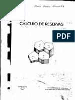 CALCULO DE RESERVA