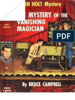 Ken Holt 12 - The Mystery of the Vanishing Magician