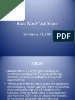 Buzz Word Tech Share