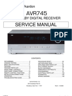 HARMAN KARDON AVR745