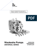 Pumps_Positive Displacement_Rotary_Waukesha Universal Service Manual