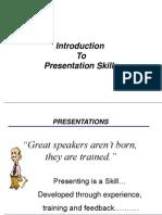 Presentation Skills Generic