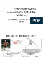 Differences Between Cardiac and Skeletal Muscle
