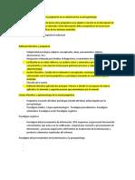 Psicopatologia y epistemología