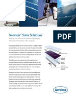 Nordson Solar Solutions for Thin Film Photvoltaic Module Assembly
