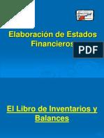 Presentación Contabilidad I - Estados Financieros, Clase 18 Abril 2012