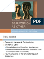 Beauvoir on Woman as Other