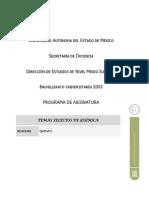 PROG-TEMAS SELECTOS DE QUÍMICA, 20 JUNIO, 2006 (DEFINITIVO)