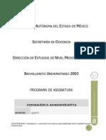 Prog-Informatica Administrativa 16 Junio 2006 Definitivo