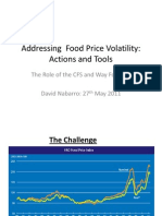 CFS Addressing Food Price Volatility
