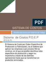 Unidad III - Sistema de Costos P.O.E.P