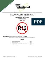 Manual Servicio Heladera Whirlpool