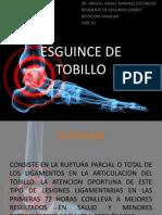ESGUINCE DE TOBILLO