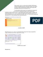XAMPP Adalah Merupakan Paket Instalasi Webserver Yang Terdiri Dari MySQL