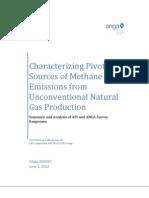 API Methane Emissions Are Half EPA Estimate