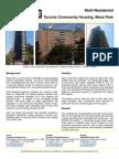 Solarwall Case Study - Moss Park; Toronto Community Housing - solar air heating system