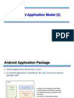 Android Application Model