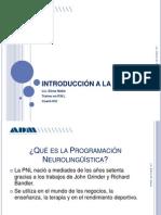 ADM- INTRODUCCIÓN A LA PNLppt2012