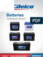 Catalogue ACDelco Batteries