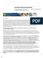 Poliquin email blast - June 4, 2012