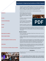 CPEE Analytics Curriculum