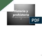 Historia y prehistoria  67777777777