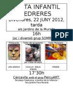 FESTA INFANTIL Pedreres 2012